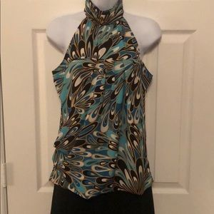 NY&Co Multi-Colored Sleeveless Blouse